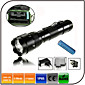 Lights LED Flashlights/Torch LED 1000 lumens Lumens 5 Mode Cree XM-L T6 18650Adjustable Focus / Waterproof / Rechargeable / Impact 3204
