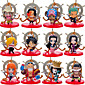 One Piece 12 Q Version on New World One Piece Family Portrait Doll Pirate Ship Anime Action Figures Model Toy 3204