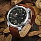 Men NAVIFORCE watch Quartz Waterproof Sports Watch Calendar Genuine Leather Wristwatch(Assorted Color) Wrist Watch Cool Watch Unique Watch 3204