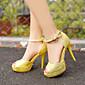 Women's Shoes Heel Heels / Peep Toe / Platform Sandals / Heels Party  Evening / Dress / CasualBlack / Pink / A001 3204