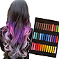 36 Color Temporary Chalk Crayons for Hair Non-toxic Hair Dye Pastels Stick DIY Styling Tools 3204