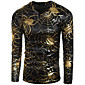Men's Long Sleeve T-Shirt,Cotton Casual / Sport Print 3204
