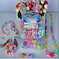 DIY Manual Weaving Bracelets Amblyopia Training Children Educational/Toy Beads Gift Box 3204