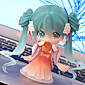 Vocaloid Hatsune Miku PVC One Size Anime Action Figures Model Toys 1pc 10cm 3204