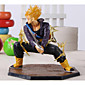 Dragon Ball Z Super Saiyan Trunks Battle Version Boxed PVC Action Figure Model Collection Toy 14cm 3204