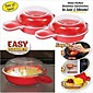 As Seen On TV - Easy Eggwich Cooking Tool Microwave Cheese Egg Cooker 2 Pcs 3204