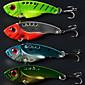 5.5cm 11g/pcs Fishing Lures Vibration Metal 3D Eyes Bionic Bait Lures 4 Colors 4 PC 3204