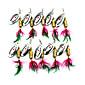 Hengjia 10pcs Spoon Metal Fishing Lures 75mm 10g Spinner Baits Random Colors 3204