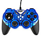 USB-908 Double Shock Controller Blue 3204