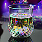 RGB LED Magic Inductive Color Changing Cup for KTV Party Decoration Pineapple Mug Whisky Beer Cup 3204