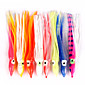 Anmuka 10 pcs Soft Jerkbaits / Soft Bait / Octopus Random Colors 12cm/14cm/18 cm Soft PlasticSea Fishing / Bait 3204