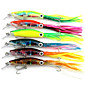 14cm 42g/Pcs Squid Skirts Lure Trolling Hard Artificial Fishing Bait Squid Jigs Lures 1PC 3204