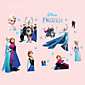 Family Wall Stickers DIY Removable Cartoon Princess Wall Decals Bedroom Living Room Wall Art 3204