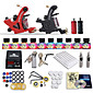 Dragonhawk Beginner tattoo starter kits 2 machines 10 SetImmortal Tattoo Inks tattoo kit professional 3204