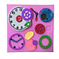 Random Color 3D Clock watch gear cake mold silicone mold bakeware mold chocolate soap mold baking forma de silicone 3204