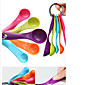 Colorful 5PCS Kitchen Measuring Spoons Measuring Cups Spoon Cup Baking Utensil Set Kit Measuring Tools 3204