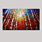 Hand-painted Oil Paintings Modern Landscape with Stretched Framed 3204