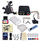 Dragonhawk Starter Tattoo kit 1 Tattoo Machine Power Supply 3204