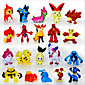 Pocket Little Monster 24pcs Action Figures Cute Monster Mini Figures Toys Best ChristmasBirthday Gifts Brinquedos 3cm 3204