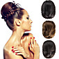 Wedding Bridal Updo Chignon Bun Clips Braids Synthetic Straight Hair Extensions Multi Colors 3204