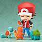 Pocket Little Monster Ash Ketchum PVC 10cm Anime Action Figures Model Toys Doll Toy 1 Pc 3204
