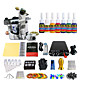 Stainless Steel Pedal Mini Power Coil Tattoo Kit Equipment (Handle Color Random Delivery) 3204