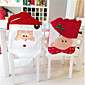 Lovely Christmas Chair Covers Mr  Mrs Santa Claus Christmas Decoration Dining Room Chair Cover Home Party Decor 3204