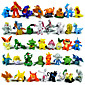 Pocket Little Monster Action Figures 144Pcs Cute Monster Mini Figures Toys Best ChristmasBirthday Gifts 3cm 3204