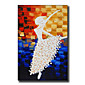 Modern Wall Art Oil Painting Abstract People Dancer Hand Painted On Canvas With Stretched Frame 3204