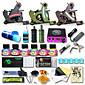 Professional Tattoo Kit 3 Cast Iron Machine Liner  Shader LCD Power Supply 50 Tattoo Needles Tattoo Inks Supplies 3204