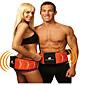 Toning System Electrode Slimming Vibration Vibrating slender shaper Massager Belt Massage Anti Fat Burner Machine 3204