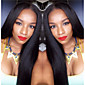 Light Yaki 8A Brazilian Virgin Human Hair Wigs Free Part Lace Front Human Hair Wigs With Baby Hair 3204