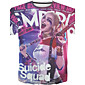 New Fashion Men Suicide Squad Neck Short Sleeve Men 3d T-shirt 3204