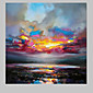 IARTSAbstract colorful Landscape Scenery Oil Painting 3204