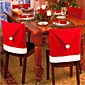 6Pcs Christmas Chair Covers for Christmas and Party Decorations 6550CM 3204