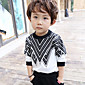 Boy's Casual/Daily Print Hoodie  SweatshirtCotton Fall Black 3204
