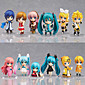 Vocaloid Hatsune Miku PVC 6.5cm Anime Action Figures Model Toys Doll Toy 1set 3204