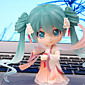 Cosplay Hatsune Mid-Autumn Moon Cake Miku PVC 10cm Anime Action Figures Model Toys Doll Toy 3204