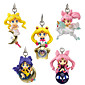 Sailor Moon Princess Serenity PVC 5cm Anime Action Figures Model Toys Doll Toy 5pc 3204