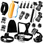 Accessories For GoPro,Front Mounting Anti-Fog Insert Monopod Tripod Case/Bags Screw Buoy Suction Cup Adhesive Mounts Straps Hand 3204