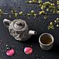 1PC Slap-Up Atmospheric Family Entertainment Glass Tea set Seven-Piece Cup Teapot 3204