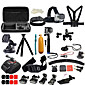 Gopro AccessoriesChest Harness / Front Mounting / Anti-Fog Insert / Monopod / Tripod / Suction Cup / Adhesive Mounts / Wrist Strap / Hand 3204