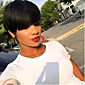 100% Natural Black Short Hair Wigs Heat Resistant Wig For Women Hair Short Cut Wigs Hot Sale 3204