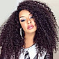 8A Peruvian Kinky Curly Wigs Glueless Lace Front Human Hair wigs For Women 3204