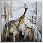 Hand-Painted Abstract / People 100% Hang-Painted Oil Painting,Modern / Classic One Panel Canvas Oil Painting For Home Decoration 3204