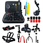 Gopro Accessory kit Bundle Kit for Gopro Hero 5 Gopro Hero 4 Gopro 3 3 2 1 for Outdoor Sports 3204