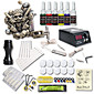 Beginner Tattoo Kit 1 Relief Tattoo Machine 6 Color Inks Tattoo Set Tattoo Power Supply 3204