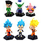 Anime Action Figures Inspired by Dragon Ball Goku Anime Cosplay Accessories Figure (6pcs) 3204