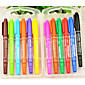 Marker Small Double - Headed Oily Color Marker Pen Marker 3204