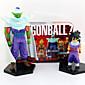 Dragon Ball Son Goku  Son Gohan PVC 14CM Anime Action Figures Model Toys Doll Toy 2PCS 3204
